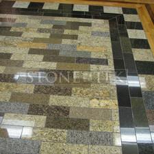 Mixed Blend 3cm floor tile.