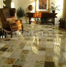9x9 Sand Blend 3cm floor tile.
