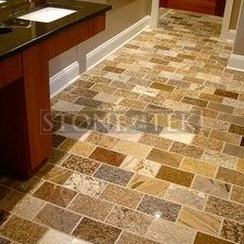 6x9 Light Blend floor tile.